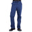 Cherokee Workwear Professionals WW190 Scrubs Pants Men's Tapered Leg Drawstring Cargo Navy