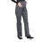 Cherokee Workwear Professionals WW220 Scrubs Pants Maternity Straight Leg Pewter M