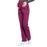Cherokee Workwear Professionals WW220 Scrubs Pants Maternity Straight Leg Wine M