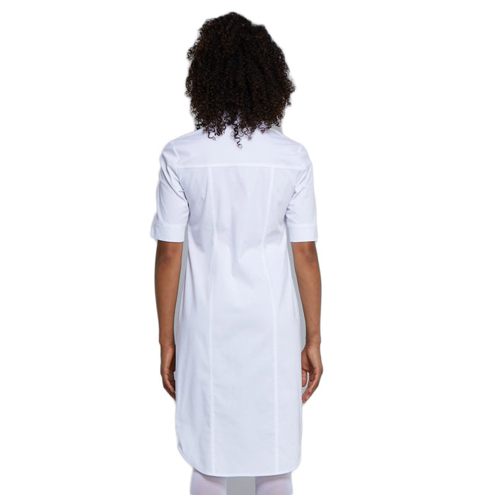 Cherokee Workwear Professionals WW500 Dress Women's Button Front White 3XL