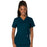 Cherokee Workwear Revolution WW620 Scrubs Top Women's V-Neck Caribbean Blue