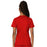 Cherokee Workwear Revolution WW620 Scrubs Top Women's V-Neck Red 3XL