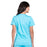 Cherokee Workwear Revolution WW620 Scrubs Top Women's V-Neck Turquoise 3XL