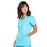 Cherokee Workwear Revolution WW620 Scrubs Top Women's V-Neck Turquoise 4XL