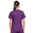 Cherokee Core Stretch WW630 Scrubs Top Women's V-Neck Eggplant 3XL