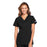 Cherokee Workwear WW645 Scrubs Top Women's V-Neck Black