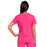 Cherokee Workwear Professionals WW665 Scrubs Top Women's V-Neck Electric Pink 3XL