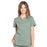Cherokee Workwear Professionals WW665 Scrubs Top Women's V-Neck Olive