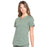 Cherokee Workwear Professionals WW665 Scrubs Top Women's V-Neck Olive 4XL