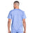 Cherokee Workwear Revolution WW670 Scrubs Top Men's V-Neck Ciel Blue 3XL