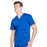 Cherokee Workwear Revolution WW670 Scrubs Top Men's V-Neck Galaxy Blue 4XL