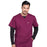 Cherokee Workwear Professionals WW675 Scrubs Top Men's V-Neck Wine