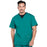 Cherokee Workwear Professionals WW695 Scrubs Top Men's V-Neck Hunter Green
