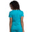 Cherokee Workwear Revolution WW710 Scrubs Top Women's V-Neck Teal Blue 3XL