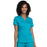 Cherokee Workwear Revolution WW710 Scrubs Top Women's V-Neck Teal Blue