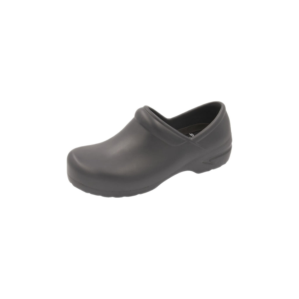 Anywear Footwear Guardian Angel Footwear SR Antimicrobial Plastic Stepin Pewter Pewter Footwear