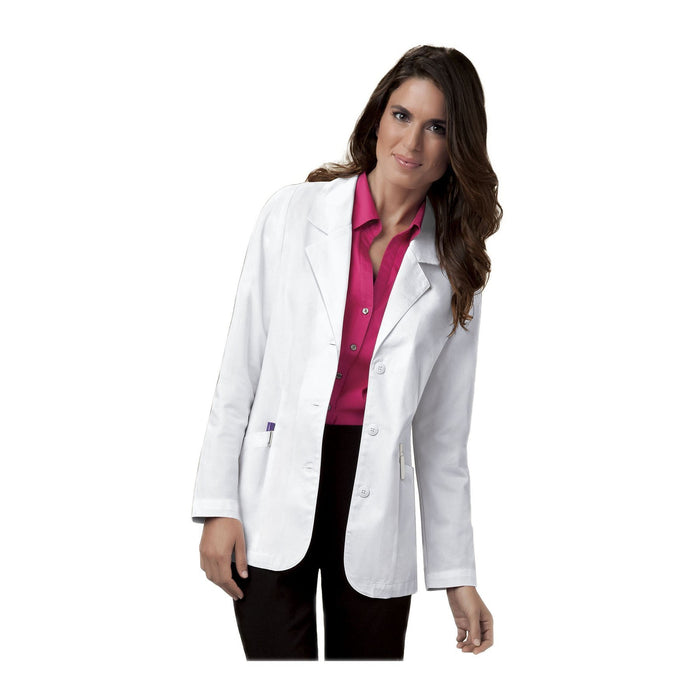 Cherokee 348 Professional Whites Lab Coats Modern Classic White Lab Coats