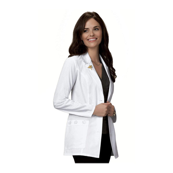 "Cherokee Lab Coats Professional Whites 29"" Lab Coat White Lab Coats"