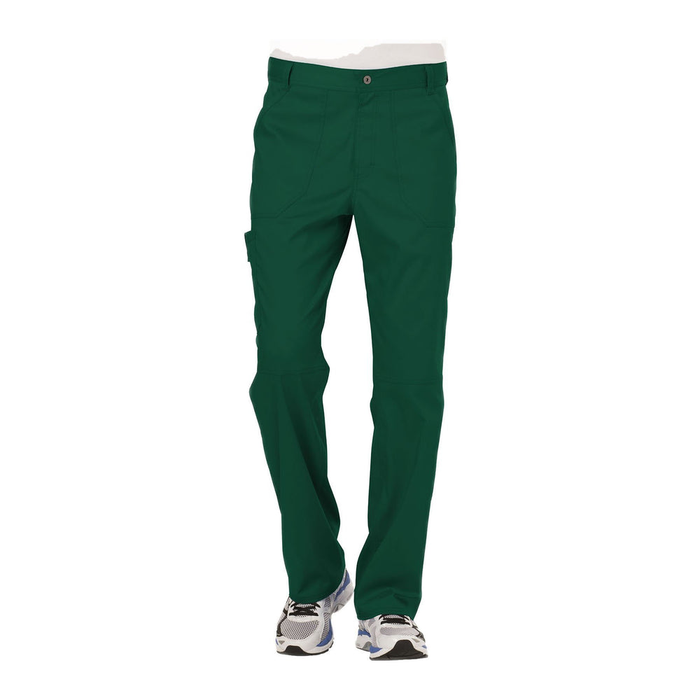 Cherokee Workwear Pant WW Revolution Men's Men's Fly Front Pant Hunter Green Pant