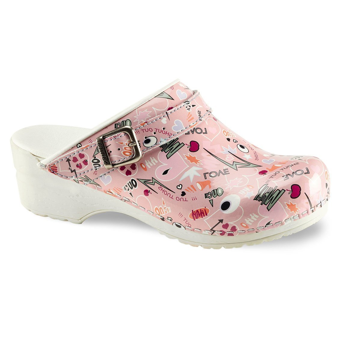 Sanita ShoutOut Clog Open Heel