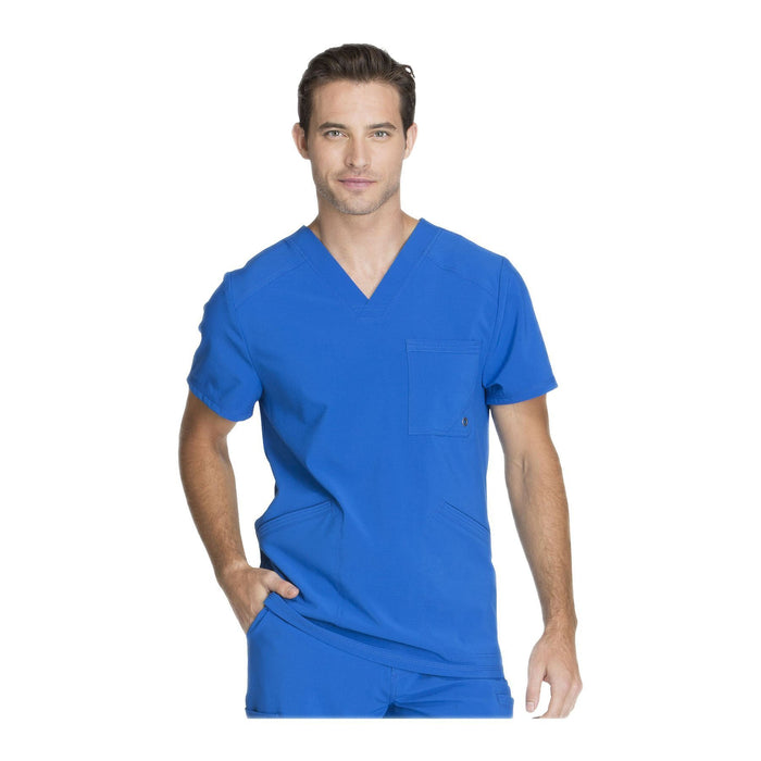 Cherokee Scrub Top Infinity Men V-Neck Top Royal Top
