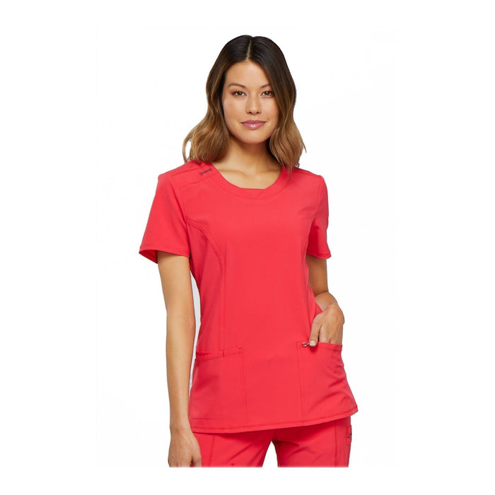 Cherokee Scrub Top Infinity Round Neck Top Punch Top