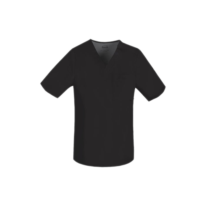 Cherokee Scrub Top Luxe for Men V-Neck Top Black Top