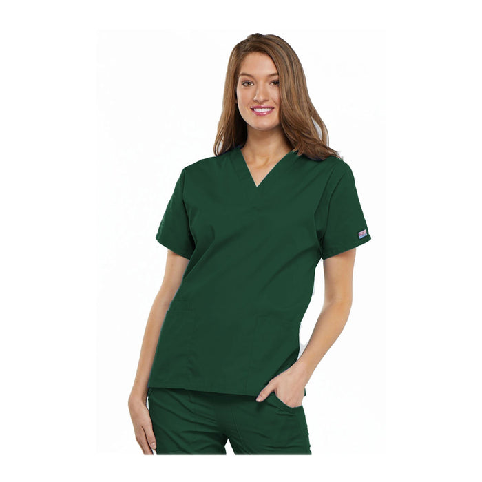 Cherokee Scrubs Workwear 4700 WW Top Traditional Classic Hunter Top