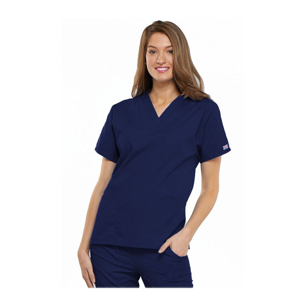 Cherokee scrubs Workwear 4700 WW Top Traditional Classic Navy Top
