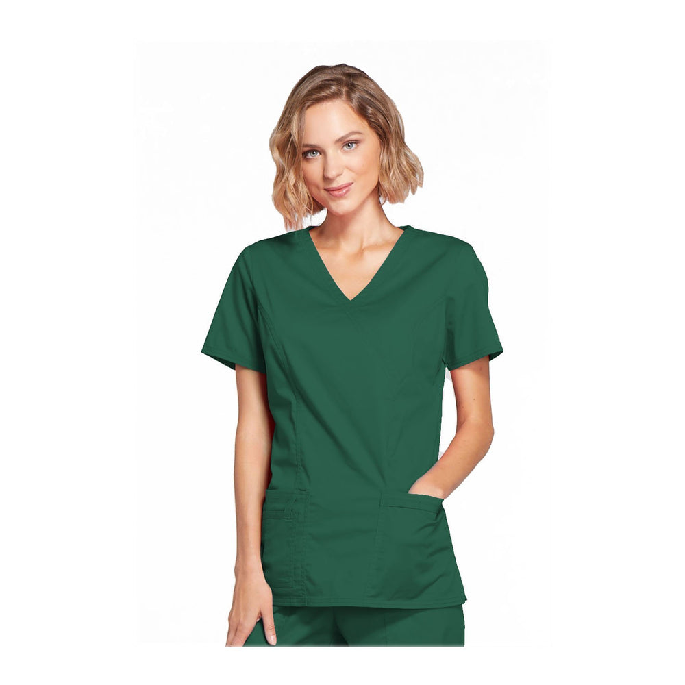 Cherokee Scrubs Workwear 4728 WW Core Stretch Top Modern Classic Hunter Top