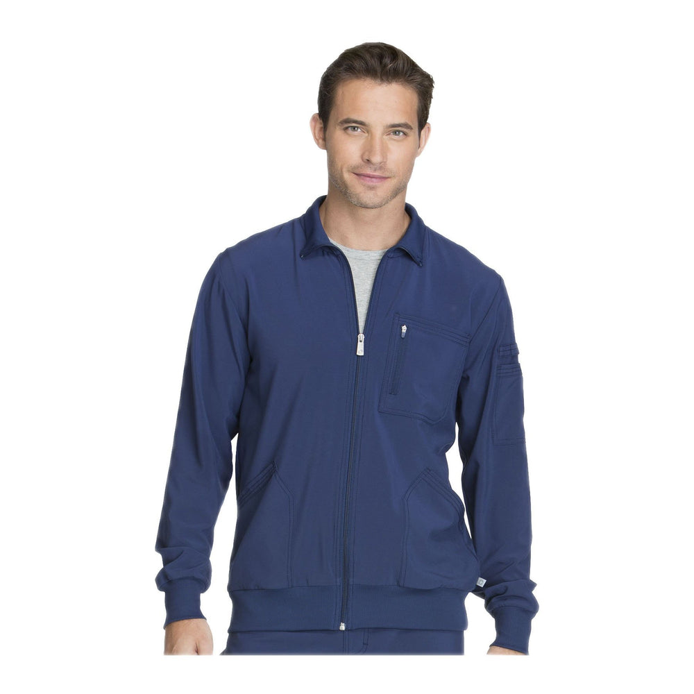 Cherokee Warm Up Jacket Infinity Men Zip Front Jacket Navy Warm Up Jacket