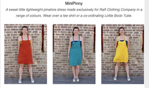 The Mini Pinny & a Bit of Raft History