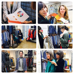 r a f t clothing at Newent Style Pod with Michelle Blake