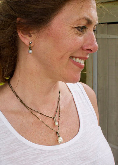 Pearl Fiancee Multi Necklace