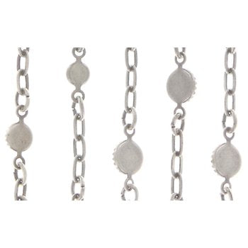 Waterfalls 5 Drop Necklace - white