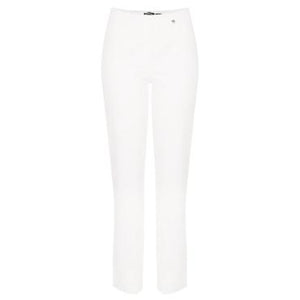Marie Full Length Denim Jeans in White