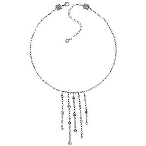 5 Drop Waterfalls Necklace - white