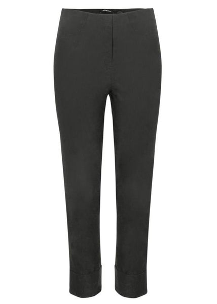 Bella 3/4 Length Trousers in Anthracite Grey 97