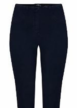 Bella 3/4 Length Denim Jeans in Navy 69
