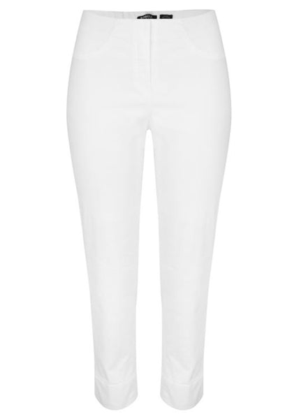 Bella 3/4 Length Denim Jeans in White