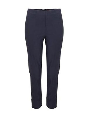 Bella 3/4 Length Trousers in Navy 69