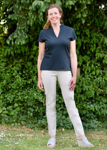 Marie Full Length Trousers in Cotswold Stone 14
