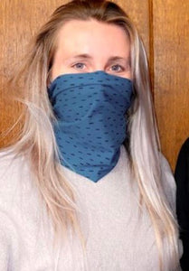 Any-Way Doodle Snood Band in Teal