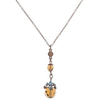 La Maitresse brown/blue Pendant