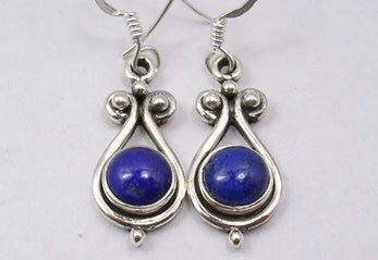 Lapis Lazuli Drop Earrings