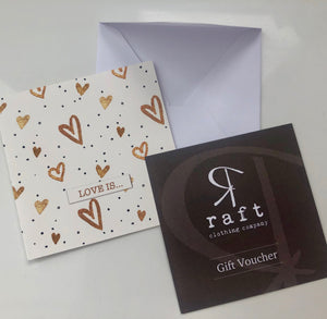 Gift Voucher - Love is...