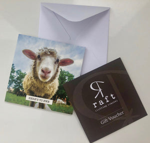 Gift Voucher - Here's to Ewe