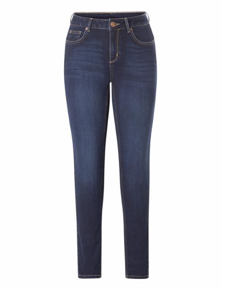 Joy Slim Fit Stretch Jeans in Blue