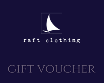 Gift Vouchers at 'r a f t clothing'