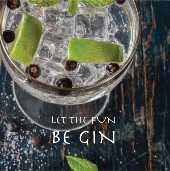 Let the Fun Be Gin Gift Vouchers at 'r a f t clothing'